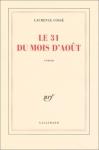 """Couverture du livre : """"Le 31 du mois d'août"""""""