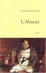 """Couverture du livre : """"L'absent"""""""