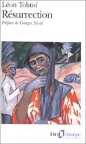 """Couverture du livre : """"Résurrection"""""""