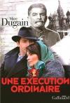 """Couverture du livre : """"Une exécution ordinaire"""""""