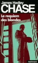 """Couverture du livre : """"Le requiem des blondes"""""""