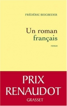 """Couverture du livre : """"Un roman français"""""""