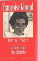 """Couverture du livre : """"Jenny Marx ou la femme du diable"""""""