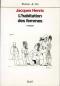 """Couverture du livre : """"L'habitation des femmes"""""""