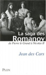"""Couverture du livre : """"La saga des Romanov"""""""