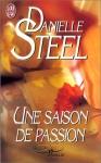 """Couverture du livre : """"Une saison de passion"""""""