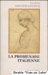 """Couverture du livre : """"La promenade italienne"""""""