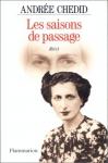 """Couverture du livre : """"Les saisons de passage"""""""