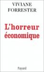 """Couverture du livre : """"L'horreur économique"""""""