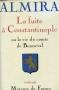 """Couverture du livre : """"La fuite à Constantinople ou la vie du Comte de Bonneval"""""""
