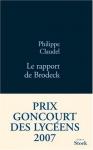 """Couverture du livre : """"Le rapport de Brodeck"""""""