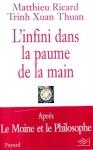 """Couverture du livre : """"L'infini dans la paume de la main"""""""