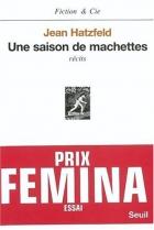 """Couverture du livre : """"Une saison de machettes"""""""