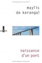"""Couverture du livre : """"Naissance d'un pont"""""""