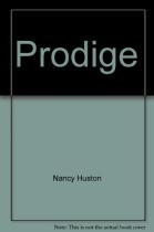 """Couverture du livre : """"Prodige"""""""