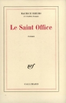 "Couverture du livre : ""Le Saint Office"""