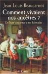 """Couverture du livre : """"Comment vivaient nos ancêtres ?"""""""