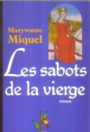 """Couverture du livre : """"Les sabots de la vierge"""""""