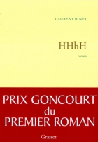 """Couverture du livre : """"HHhH"""""""