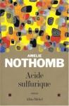 """Couverture du livre : """"Acide sulfurique"""""""