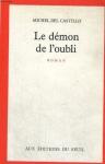 """Couverture du livre : """"Le démon de l'oubli"""""""