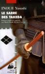 """Couverture du livre : """"Le sabre des Takeda"""""""