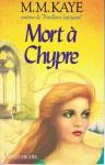 """Couverture du livre : """"Mort à Chypre"""""""