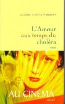 """Couverture du livre : """"L'amour au temps du choléra"""""""
