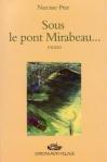 """Couverture du livre : """"Sous le pont Mirabeau"""""""