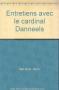 """Couverture du livre : """"Entretiens avec le cardinal Daneels"""""""