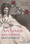"""Couverture du livre : """"Archives secrètes"""""""