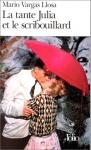 """Couverture du livre : """"La tante Julia et le scribouillard"""""""