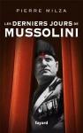 """Couverture du livre : """"Les derniers jours de Mussolini"""""""