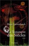 """Couverture du livre : """"Le testament des siècles"""""""