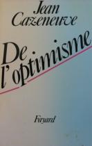 """Couverture du livre : """"De l'optimisme"""""""