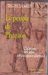 """Couverture du livre : """"Le peuple de pharaon"""""""