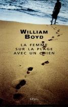 """Couverture du livre : """"La femme sur la plage avec un chien"""""""