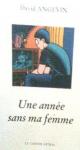 """Couverture du livre : """"Une année sans ma femme"""""""