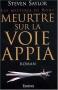 """Couverture du livre : """"Meurtre sur la voie Appia"""""""