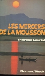 """Couverture du livre : """"Les miroirs de la mousson"""""""