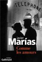 """Couverture du livre : """"Comme les amours"""""""