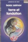 """Couverture du livre : """"Terre et fondation"""""""