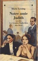 """Couverture du livre : """"Notre amie Judith"""""""