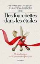 """Couverture du livre : """"Des fourchettes dans les étoiles"""""""