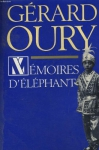 """Couverture du livre : """"Mémoires d'éléphant"""""""