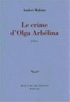 """Couverture du livre : """"Le crime d'Olga Arbélina"""""""
