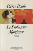 """Couverture du livre : """"Le professeur Mortimer"""""""