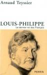 """Couverture du livre : """"Louis-Philippe"""""""