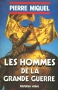 """Couverture du livre : """"Les hommes de la Grande Guerre"""""""