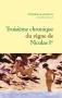 """Couverture du livre : """"Troisième chronique du règne de Nicolas Ier"""""""